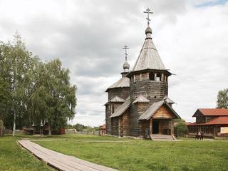 Музей деревянного зодчества вСуздале