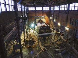 Верфь деревянных кораблей вПетрозаводске