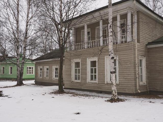 Старый город вПетрозаводске
