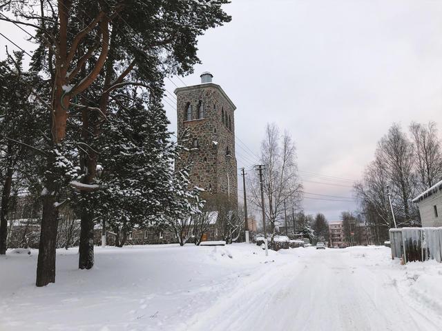 Кирха в Приозерске