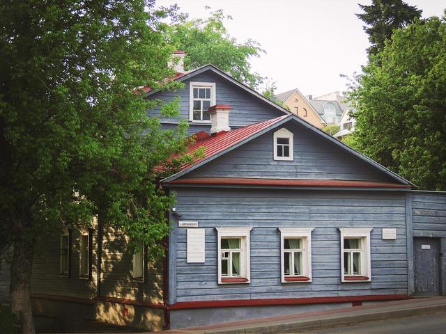 Мемориальный дом-музей Циолковского
