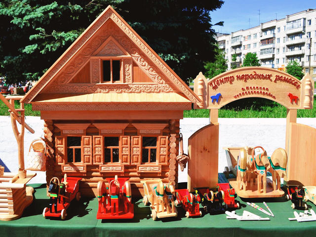Родина деревянной игрушки Новинки