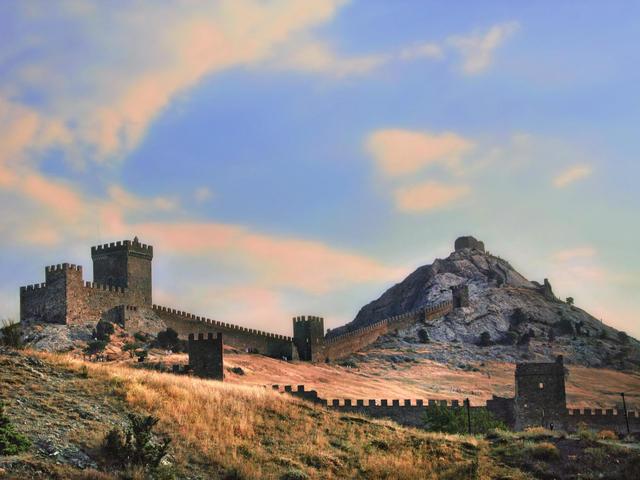 Генуэзская крепость вСудаке