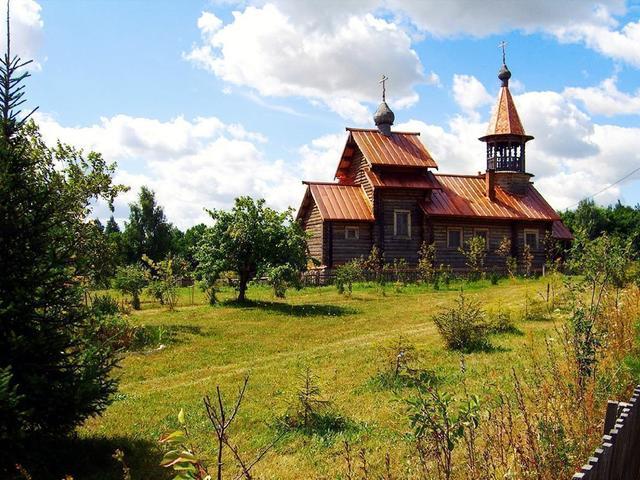 Скит Сергия Радонежского в Рязанской области