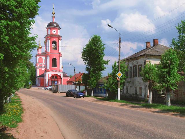 Церковь Бориса иГлеба вБоровске