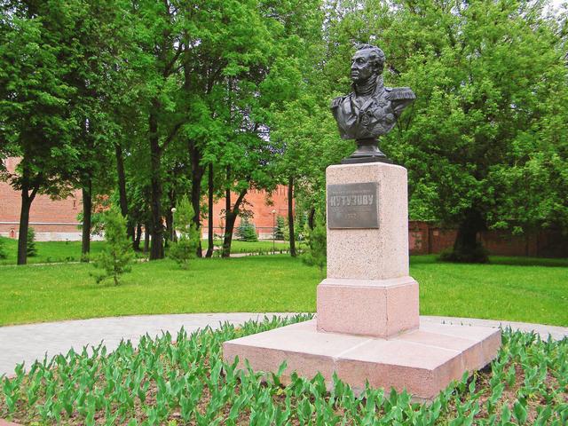 Сквер памяти героев вСмоленске
