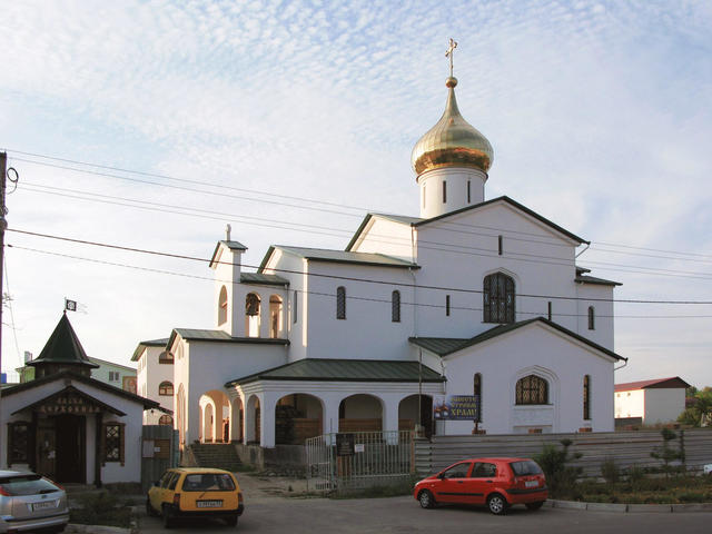 Храм Серафима Саровского вАнапе
