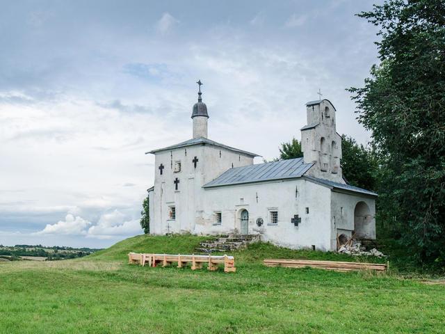 Труворово городище в Изборске