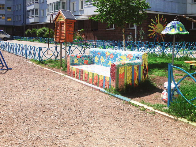 «Образцовый» двор вИркутске