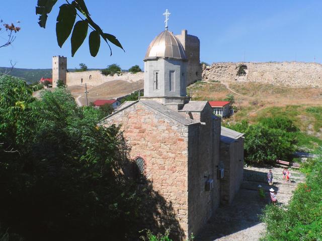 Генуэзская крепость вФеодосии