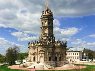 Усадьба Дубровицы ицерковь Знамения