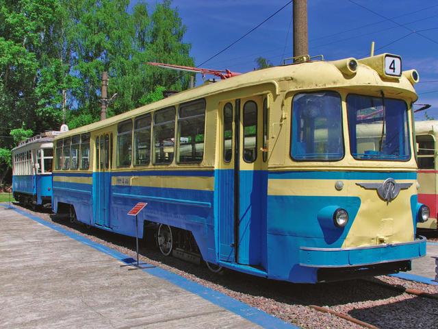 Музей трамваев вНижнем Новгородее