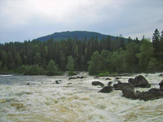 Водопад Кивакка