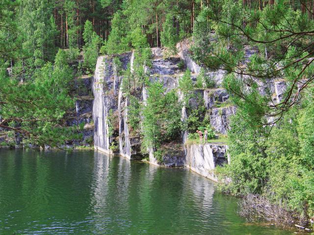 Озеро Тальков камень