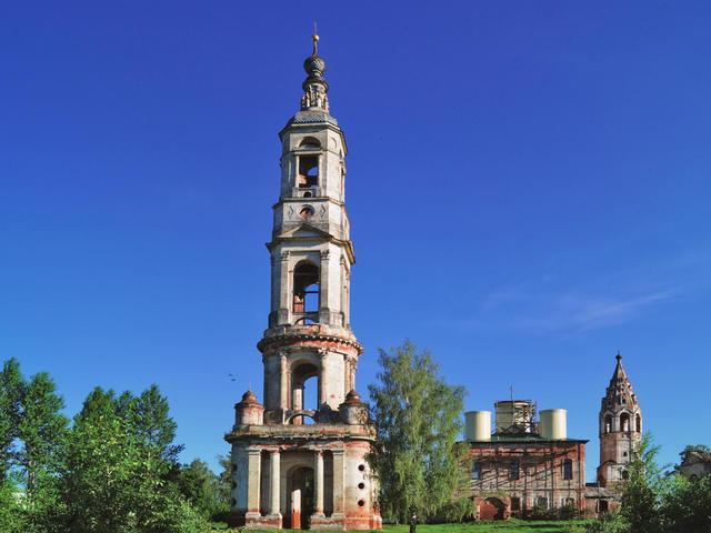 Колокольня Никитской церкви вПоречье-Рыбном