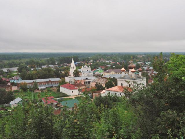 Смотровая площадка уТроицкого Никольского монастыря