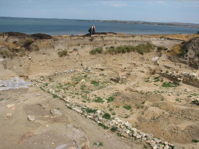 Раскопки городища Фанагория