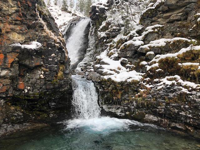 Водопад Красивый