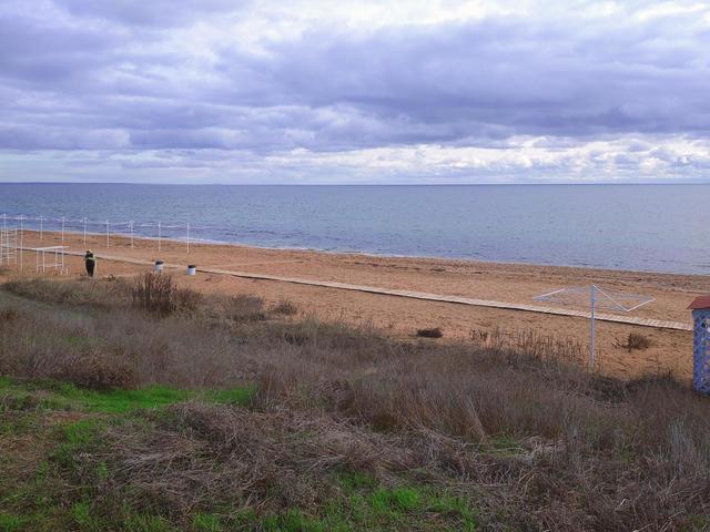 Пляж «Родина мира» в Береговом