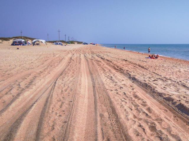 Дикий пляж «Бугазская коса»