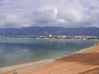 Центральный пляж Геленджика