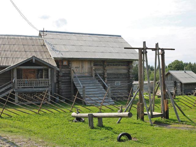 Деревня Ки́нерма