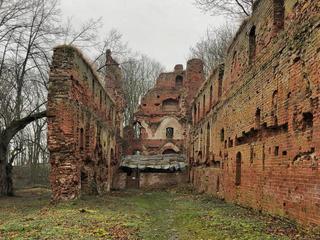 Руины замка Бальга