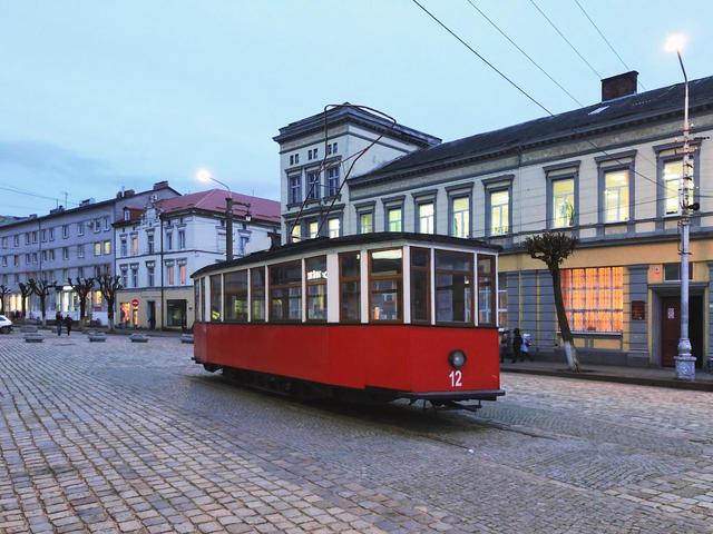 Памятник тильзитскому трамваю
