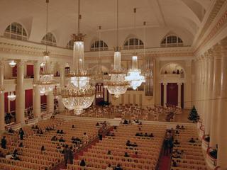 Концертный зал областной филармонии в Санкт-Петербурге