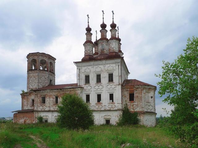 Церковь Воскресения Христова в Варницах