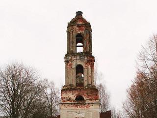 Заброшенная церковь в Коршево