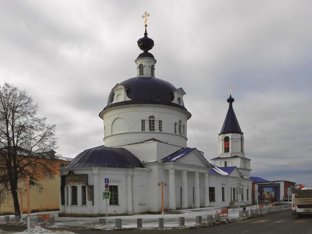 Церковь Ильи Пророка в Зарайске