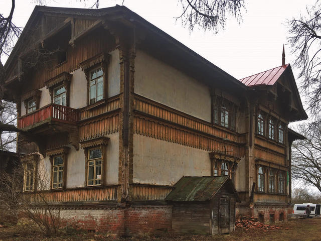 Дача Рябушинских