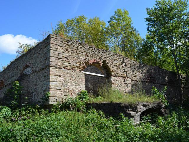 Руины усадьбы Альбрехтов