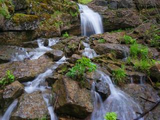 Водопад Куперля и карстовый мост