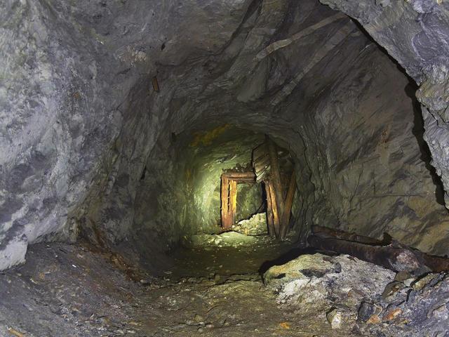 Заброшенные шахты в Слюдоруднике