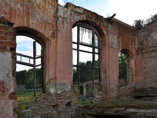 «Колесо» и руины Тирлянского завода