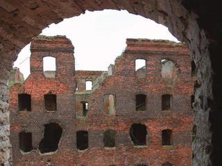 Руины Шлиссельбурга