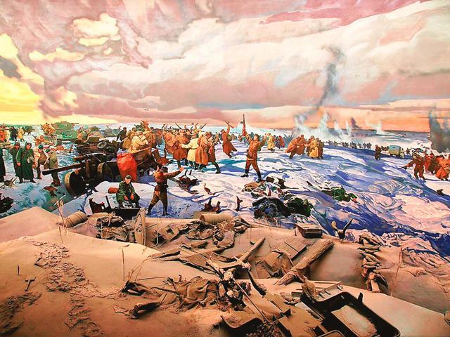 Диорама Ржевской битвы