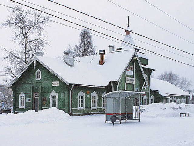 Станция «Медвежья Гора»